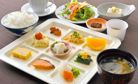 写真:和洋食膳(一部バイキング)