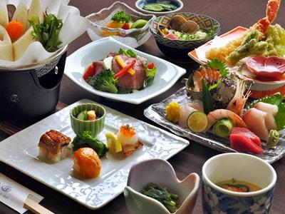 【一番人気!】当館自慢の温泉とお料理を堪能できる★★【2食付よねしろプラン】